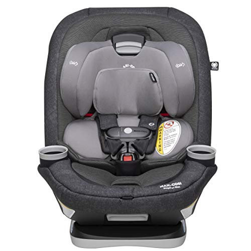 Price comparison product image Maxi-Cosi Magellan Xp Max All-In-One Convertible Car Seat with 5 Modes & Magnetic Chest Clip,  Nomad Black,  One Size