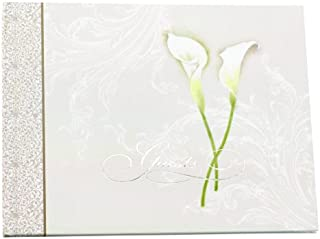 Hortense B. Hewitt Calla Lily Guest Book