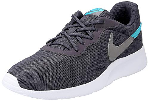 Nike Tanjun Swoosh Herrenschuhe Sportschuh Grau, Schuhgröße:EUR 42.5   US 9