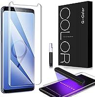 G-Color Galaxy S9 Protector Pantalla, [Alta Viscosidad], Cristal Vidrio Templado de 3D [Cobertura [Anti-Choque][Alta...