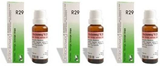 3 x Dr. Reckeweg-germany R29 Homeopathic Medicine