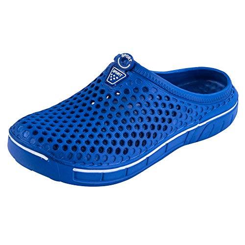 Zapatillas Casa Chanclas Sandalias Zapatos De Hombre Zapatillas De Playa Informales para Hombre Unisex Casual Pareja Sandalia De Playa Chanclas Zapatillas De Hombre-Blue_43