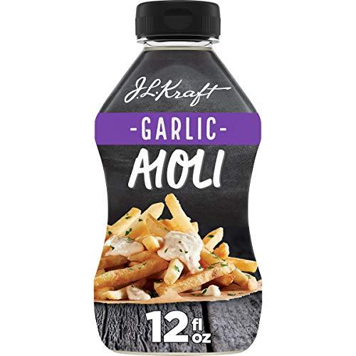 Kraft Mayo Garlic Aioli Now $1.80