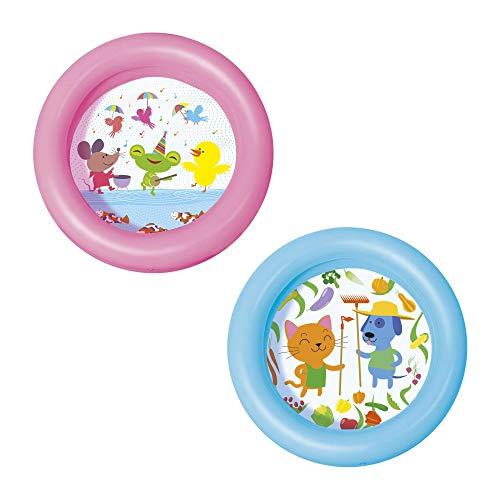 Bestway 51061 - Piscina Hinchable Infantil Kiddie 2-Anillos 61x15 cm , color/modelo surtido