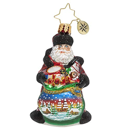 Christopher Radko Hand-Crafted European Glass Christmas Ornament, Delightful Delivery Gem