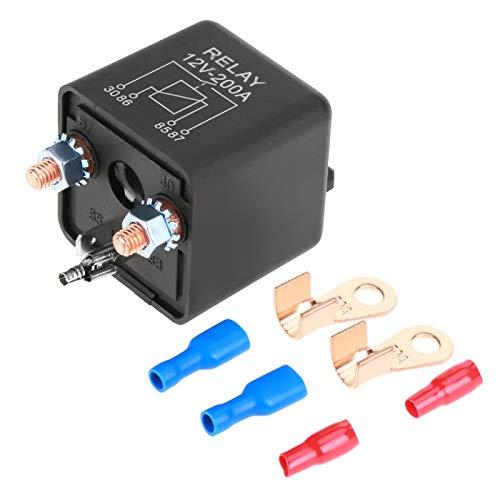 Relé de arranque, relé de coche, función a prueba de polvo con terminales para vehículos de gran tamaño con sistema de control de corriente de alta corriente