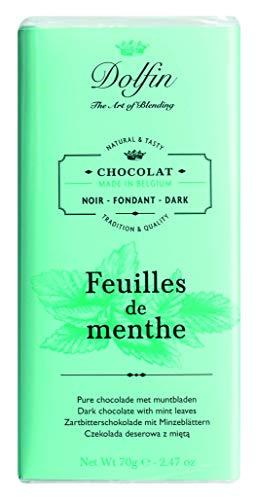 Dolfin cioccolato fondente con menta 70Gr.
