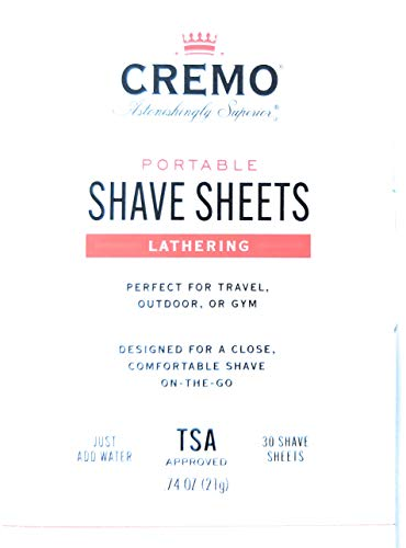 Cremo Shave Sheets 1