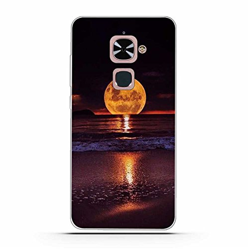 Le Max 2 Hülle, LeEco Le Max 2 Hülle, Gift_Source [Nachtstraße] Weicher Flexibel Klar Transparent Gel Silikon TPU Hülle Superdünn Stoßfest Tasche Handy-Kasten für LeEco Le Max 2 / Le X820 (5.7 inch)