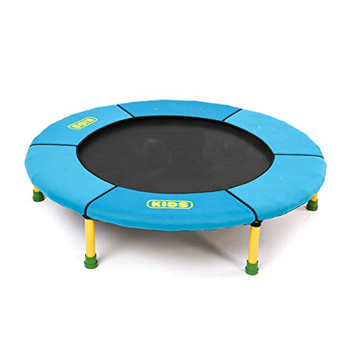HYM Children's Trampoline, 36-inch Indoor Mini Trampoline, Foldable Rebound Jumper With Sponge Protective Cover Safe and Durable