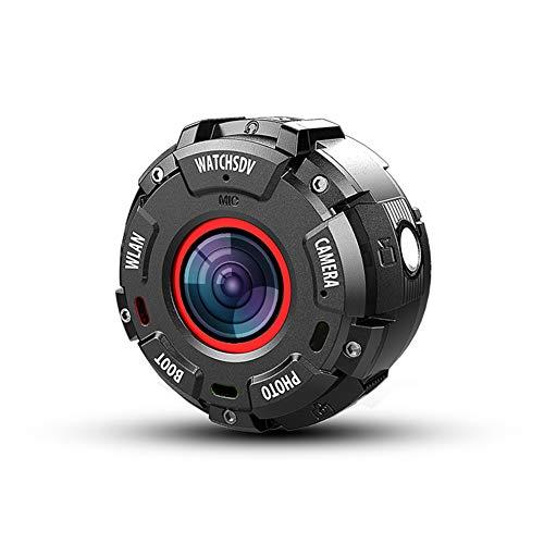 Action Cam, la Forma Dell'Orologio Porta con Te la Fotocamera Sportiva,30m con Fotocamera Subacquea Digitale, Hyper Stabilizzazione Videocamera