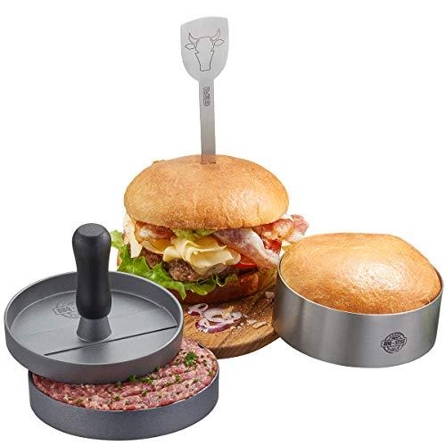 GEFU 89494 Burger-Set BBQ, 3-teilig