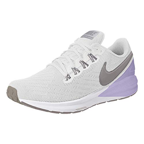 Nike Air Zoom Structure 22 Women's Running Shoe Platinum Tint/Atmosphere Grey 8.0