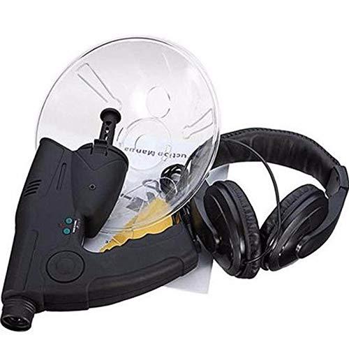 Nomi Micrófono De Plato Parabólico Direccional, Audífono Monocular X8 De Larga Distancia De 100 M, Audífono De Aves Naturales De Grado Científico