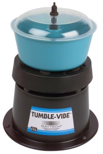 Raytech 23-001 TV-5 Standard Vibratory Tumbler, 0.05 Cubic feet Bowl Capacity, 115V, 60 Hz
