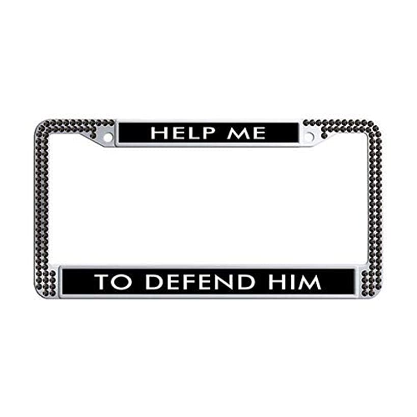 Framespolishisf Adventure Awaits License Plate Frame Holder Black Rhinestones Car License Plate Holder