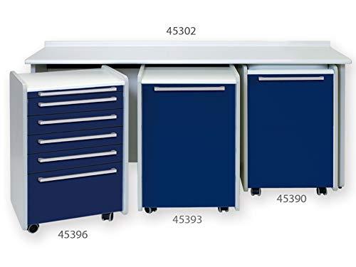 GIMA 45302 wastafel, zonder wastafel, 180 cm, wit