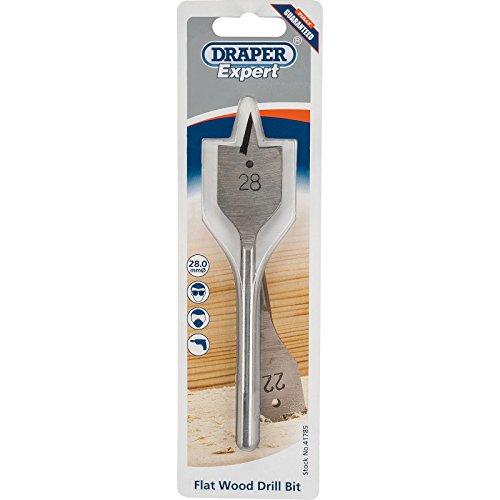 Draper 41785 Expert Flat Wood Drill Bit, 28.0mm Ø
