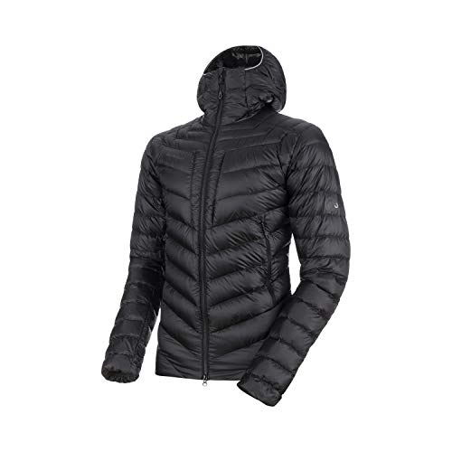 Mammut Herren Broad Peak Hooded Daunenjacke, Black-Phantom, S