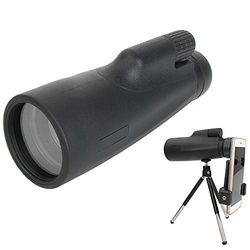 Binow 12x50 Powerful Monocular Dual Focus Optics Zoom Telescope, Day & Low Night Vision Waterproof Monoculars with Durable and Clear FMC BAK4 Prism Dual Focus for Bird Watching, Camping