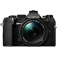 Olympus OM-D E-M5 Mark III 20.4MP 4K Ultra HD Wi-Fi & Bluetooth Mirrorless Digital Camera with 14-150mm Micro Four Thirds Lens (Black)