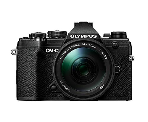 Olympus OM-D E-M5 Mark III Black Body with M.Zuiko Digital ED 14-150mm F4.0-5.6 II Black Lens Kit