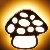 MTCGH Lámpara de Pared Creativa Moderna, Dormitorio Infantil Minimalista Moderno con Luz Acrílica Tipo Seta, Sala de Estar, Pasillo, Habitación, Pared