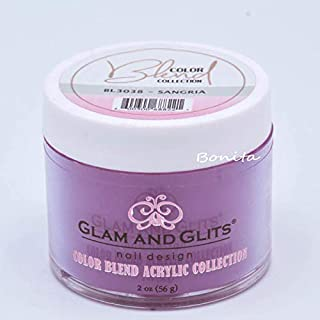 Glam And Glits Acrylic Powder Color Blend Collection BL3038 Sangria 2 oz