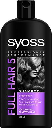 SYOSS Shampoo Full Hair 5, 1er Pack (1 x 500 ml)