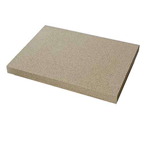 Vermiculite Platten 400x300mm 25mm stark 1 Platte Feuerraum Auskleidung Schamotteersatz Ofen