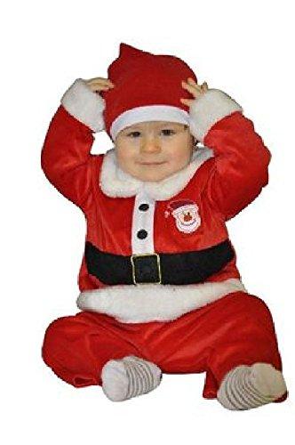 Sandy - Déguisement Velours Noël Bébé 12-24 mois