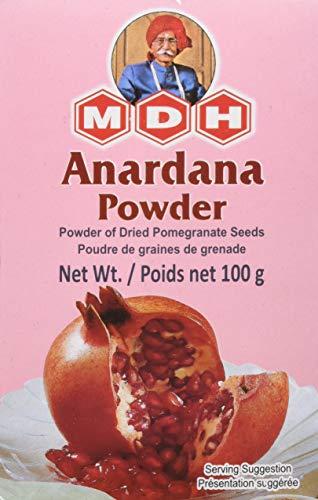 100g Granatapfel Pulver Anardana Powder Marke MDH gemahlene Granatapfel Kerne