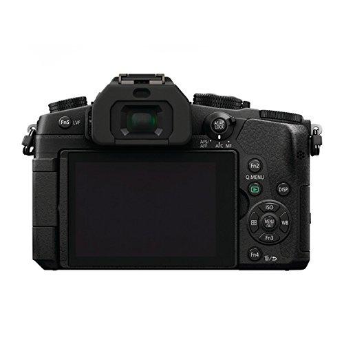 Panasonic Lumix dmc-g81+ G Vario 12-60mm Systemkamera Body 16MP Live MOS 4592x 3448pixel Black-Digital Cameras (16MP, 4592x 3448Pixel, Live MOS, 4K Ultra HD, Touchscreen, Black)