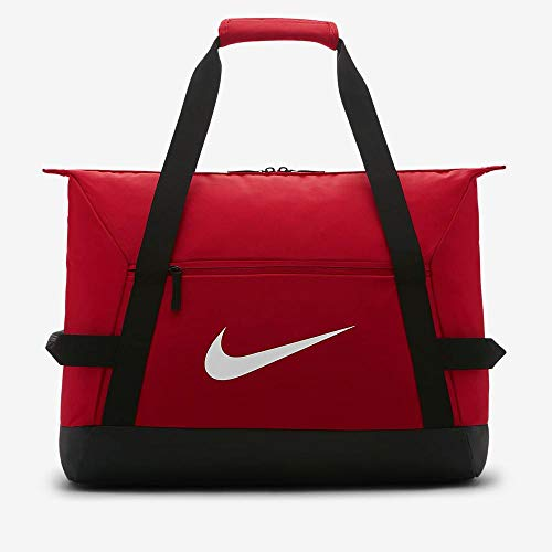 Nike Nk Acdmy Team Duff Gym Duffel Bag  Unisex Adulto  University Red Black  White