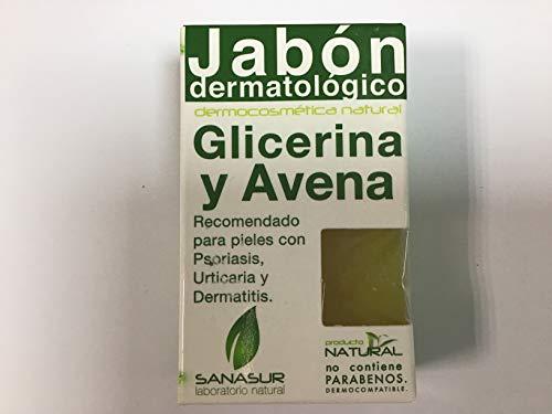 Sanasur Jabon Glicerina Avena 100Gr. 1 Unidad 100 g