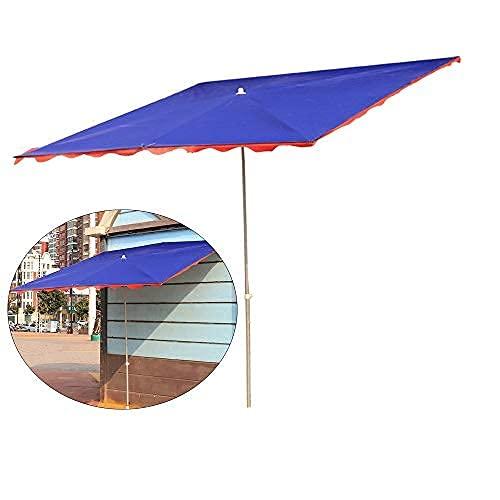 H-BEI Sombrillas portátiles, sombrillas de pie para Exteriores, sombrillas inclinadas Plegables Grandes, sombrillas de Mango Largo a Prueba de Sol y Lluvia, adecuadas para Tiendas, tiend