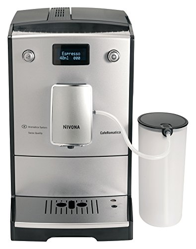 Nivona CafeRomatica 767 Freestanding fully-auto Espresso Machine 2L 2 Cups Chrome, Silver – Coffee Makers (Freestanding, Espresso Machine, Chrome, Silver, 2 l, 2 Cups, Coffee Beans, Ground Coffee)
