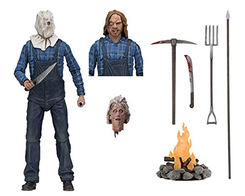ZooYi Nanston Jason Figures-7''Inch Scale Action Figure-Friday The 13th Ultimate Part 2 Jason