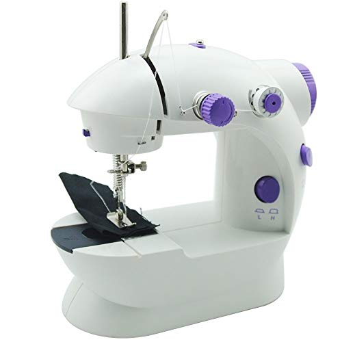 Naaimachines Huishoudelijke elektrische naaimachine Lichtgewicht Overlock Fabric Hand naaimachine 32 Accessoires ZHQHYQHHX (Color : Only machine, Size : 1)