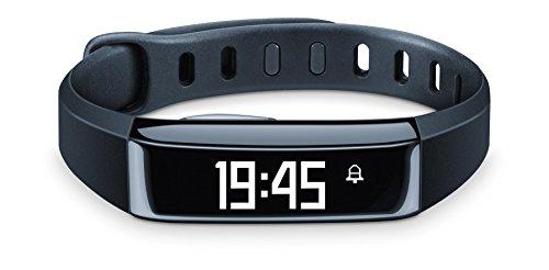 Beurer AS 80 Aktivitätssensor, optimale Aktivitätskontrolle und Schlafanalyse, Kalorienverbrauch, mit App