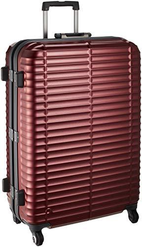 [プロテカ] スーツケース 日本製 ストラタム サイレントキャスター 保証付 80L 68 cm 5kg コロナレッド