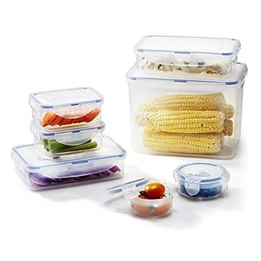 LOCK & LOCK 14-Piece Assorted Food Storage Container Set