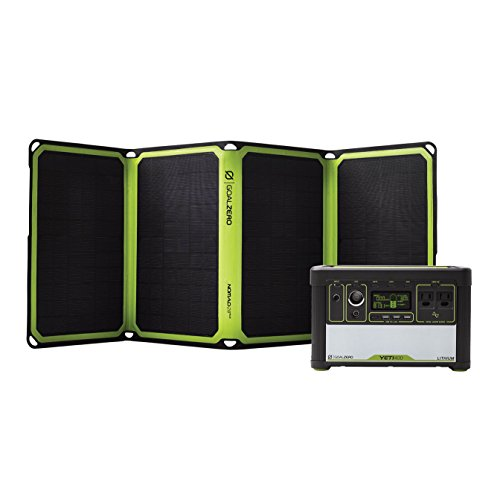Goal Zero Yeti 400 Lithium Solar Generator Kit with Nomad 28 Plus Solar Panel