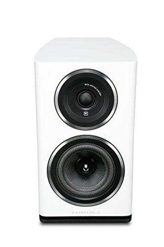 Wharfedale D11.1WH - Par de Altavoces pasivos de estantería, Color Blanco