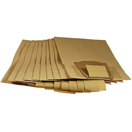Powery 10x Sacs filtrants, Sacs d'aspirateur en Papier pour Siemens 410/440 / 461 [ Robot Aspirateur/Nettoyeur de Fenêtres ]