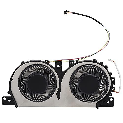 Enfriador CPU Compatible con Yoga C740‑15 / C740‑15iml, Ventilador Refrigeración Aleación Aluminio 4 Pines Repuesto para Computadora Escritorio