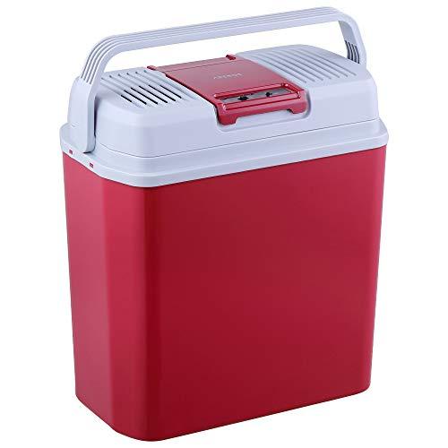 Arebos 24 Liter Kühlbox, zum Kühlen und Warmhalten, mit ECO Modus, 12/230 V für Auto und Steckdose, EEK A+++