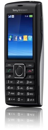 Sony Ericsson Cedar Handy (UMTS, HSDPA, 2MP, 3.5mm Klinkenstecker, Micro-USB Anschluss) schwarz/Silber