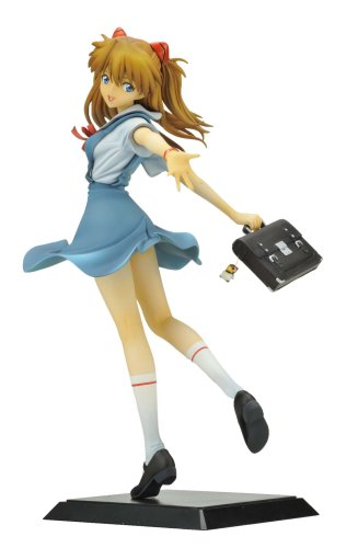 Evangelion Shikinami Asuka Langley School Uniform Ver. [1/6 Scale PVC]