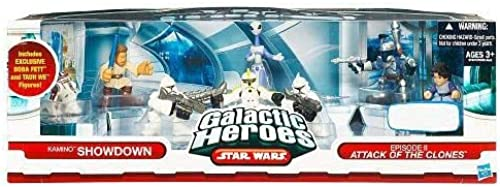 Star Wars Galactic Heroes Exclusive Deluxe Cinema Scene Mini Figure Multi Pack Kamino Showdown